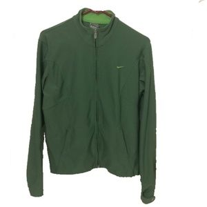 Nike Fit Dry Green Athletic Jacket